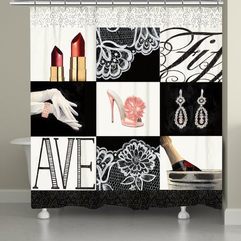 Fifth Ave Shower Curtain