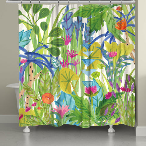 Botanical Jungle Shower Curtain