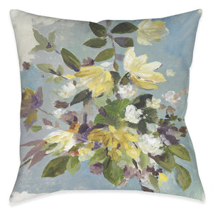 Floral Aroma Outdoor Decorative Pillow