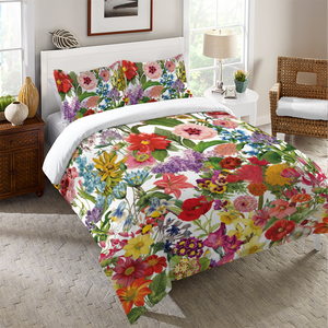 Floral Jumble Duvet Cover