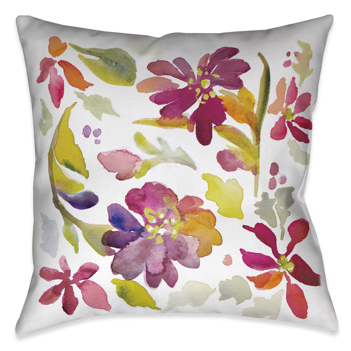 Floral Party Indoor Decorative Pillow