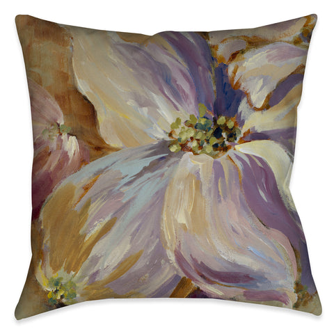 Flower Song II Indoor Decorative Pillow