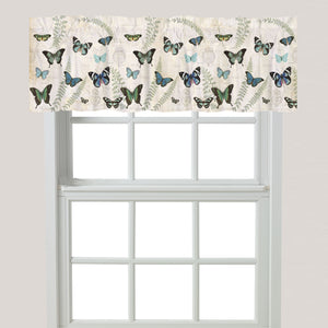 Flutters and Ferns Window Valance