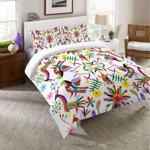 Folk Art Whimsy Duvet Cover
