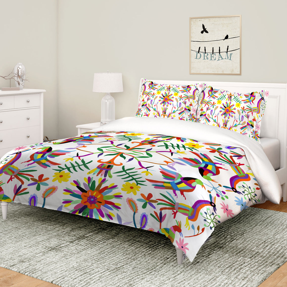 Folk Art Whimsy Comforter