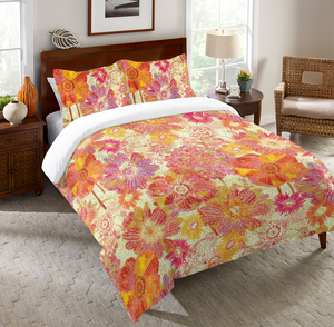 Full Bloom Duvet Cover