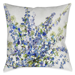 Garden Fresh Spray Outdoor Decorative Pillow