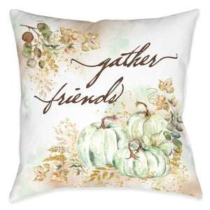 Ghost Pumpkin Gather Indoor Decorative Pillow