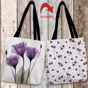 Gentian Hope Canvas Tote Bag