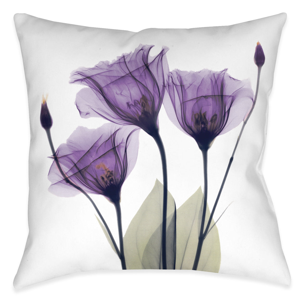 Gentian Hope Outdoor Decorative Pillow