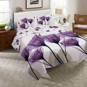 Gentian Hope Reversible Quilt Set