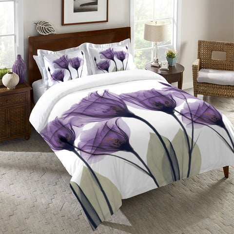 Gentian Hope Duvet Cover