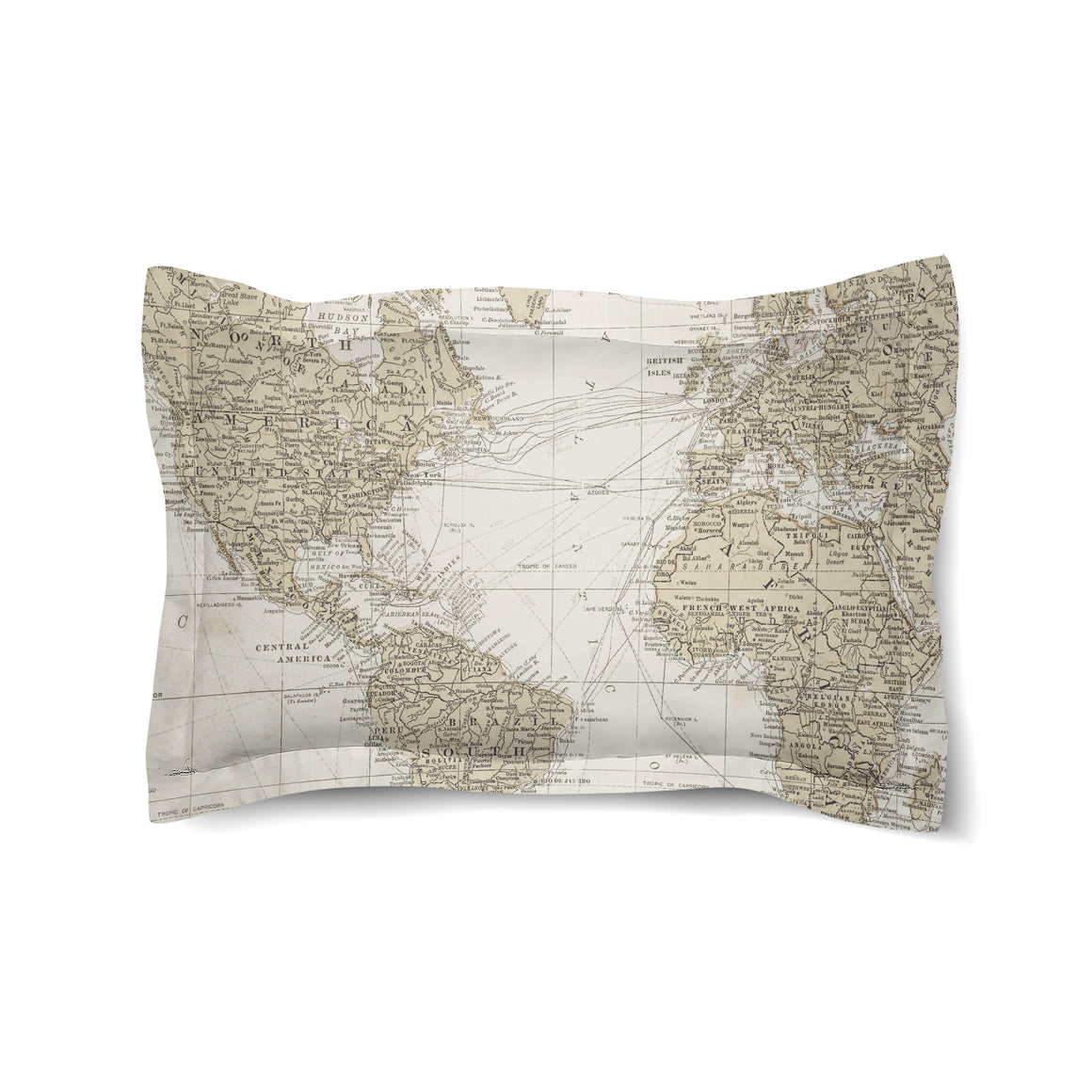 Get Out and See the World Duvet Sham