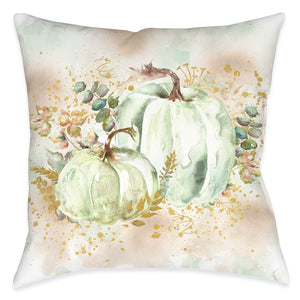 Ghost Pumpkin Pair Indoor Decorative Pillow