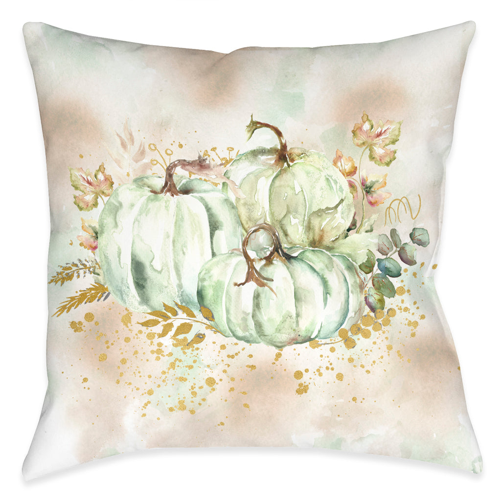 Ghost Pumpkin Bunch Indoor Decorative Pillow