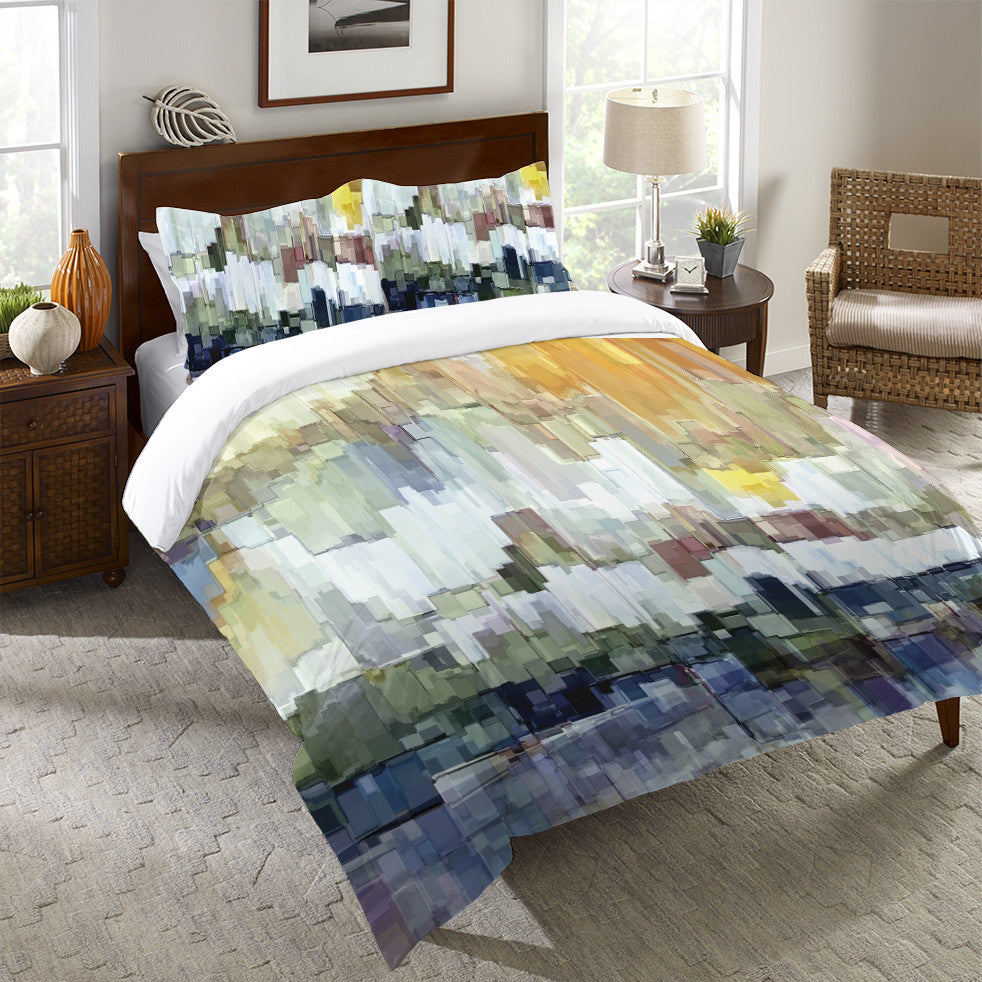 Glacier Bay Duvet Cover Laural Home