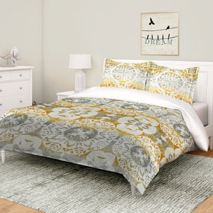 Golden Medallion Comforter