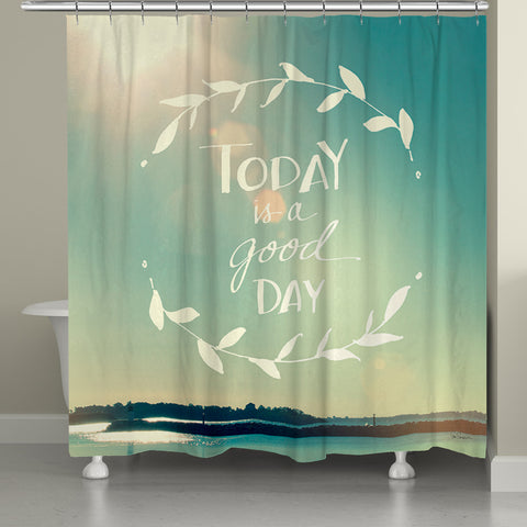 Good Day Shower Curtain