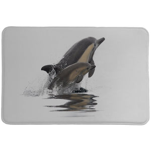 Graceful Dolphins Memory Foam Rug