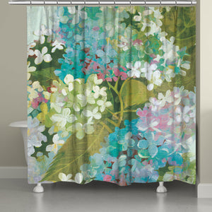 . The soft, oversized florals displayed on this shower curtain reveal a sophisticated artful taste that is sure to bring life to any bathroom space!