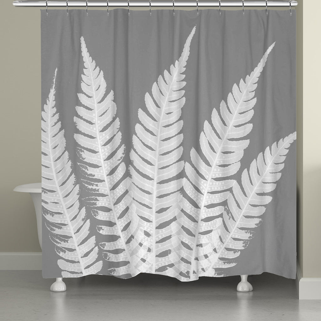 Grey Beauty Shower Curtain – Laural Home