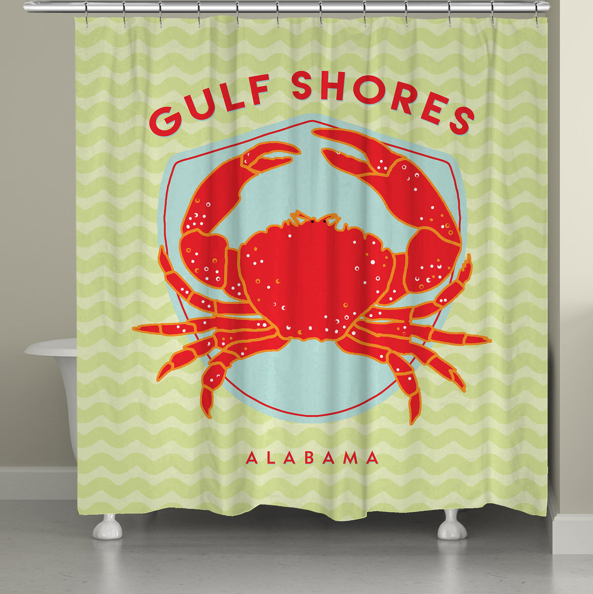 Gulf Shores Shower Curtain