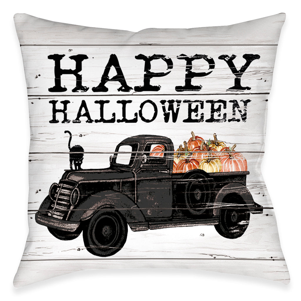 Happy Halloween Outdoor Decorative Pillow