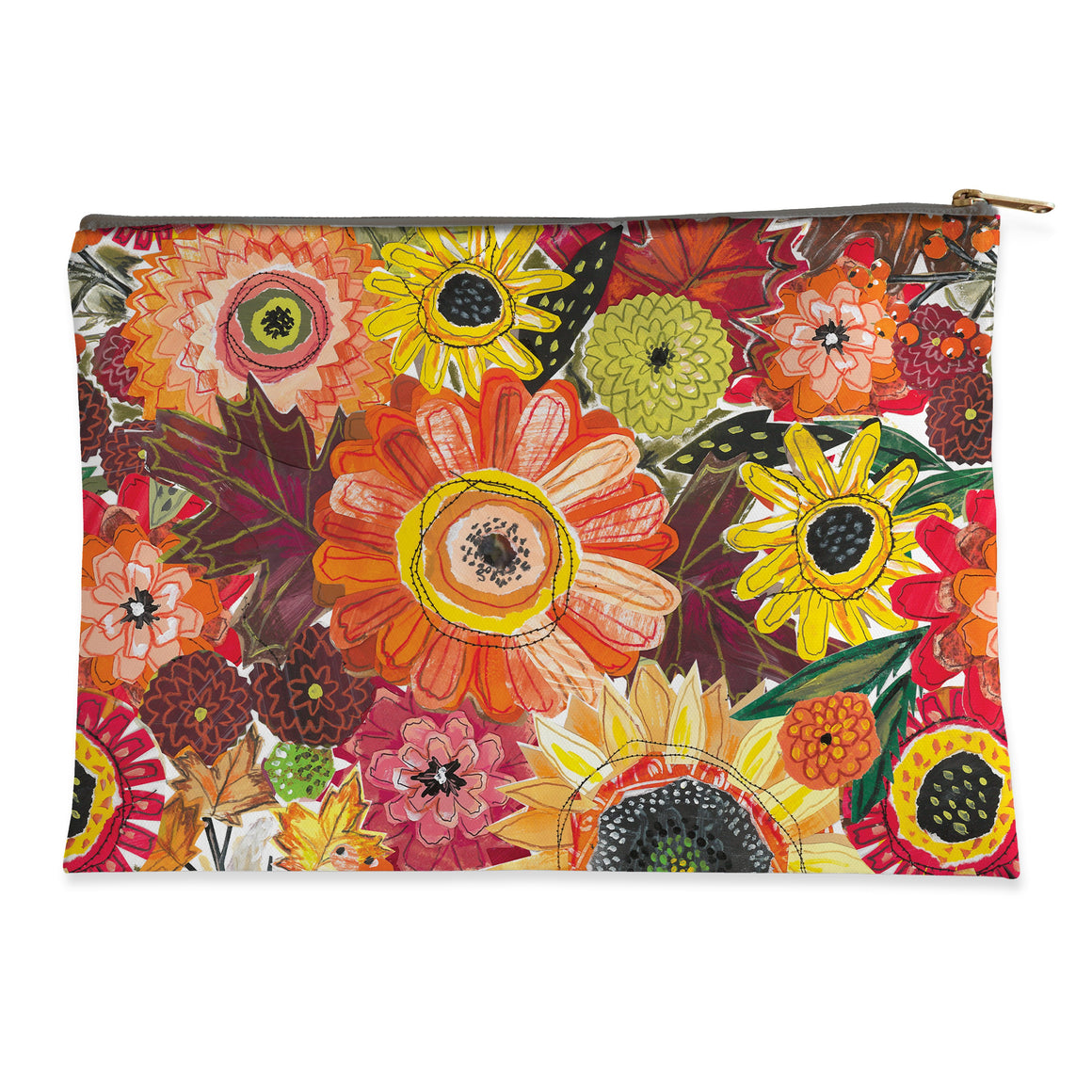 Harvest Snippets Flat Pouch