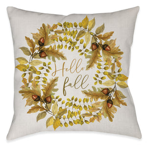Hello Fall Indoor Decorative Pillow
