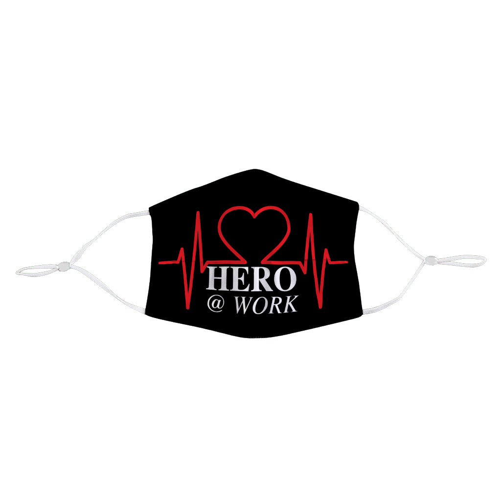 Hero At Work Face Mask