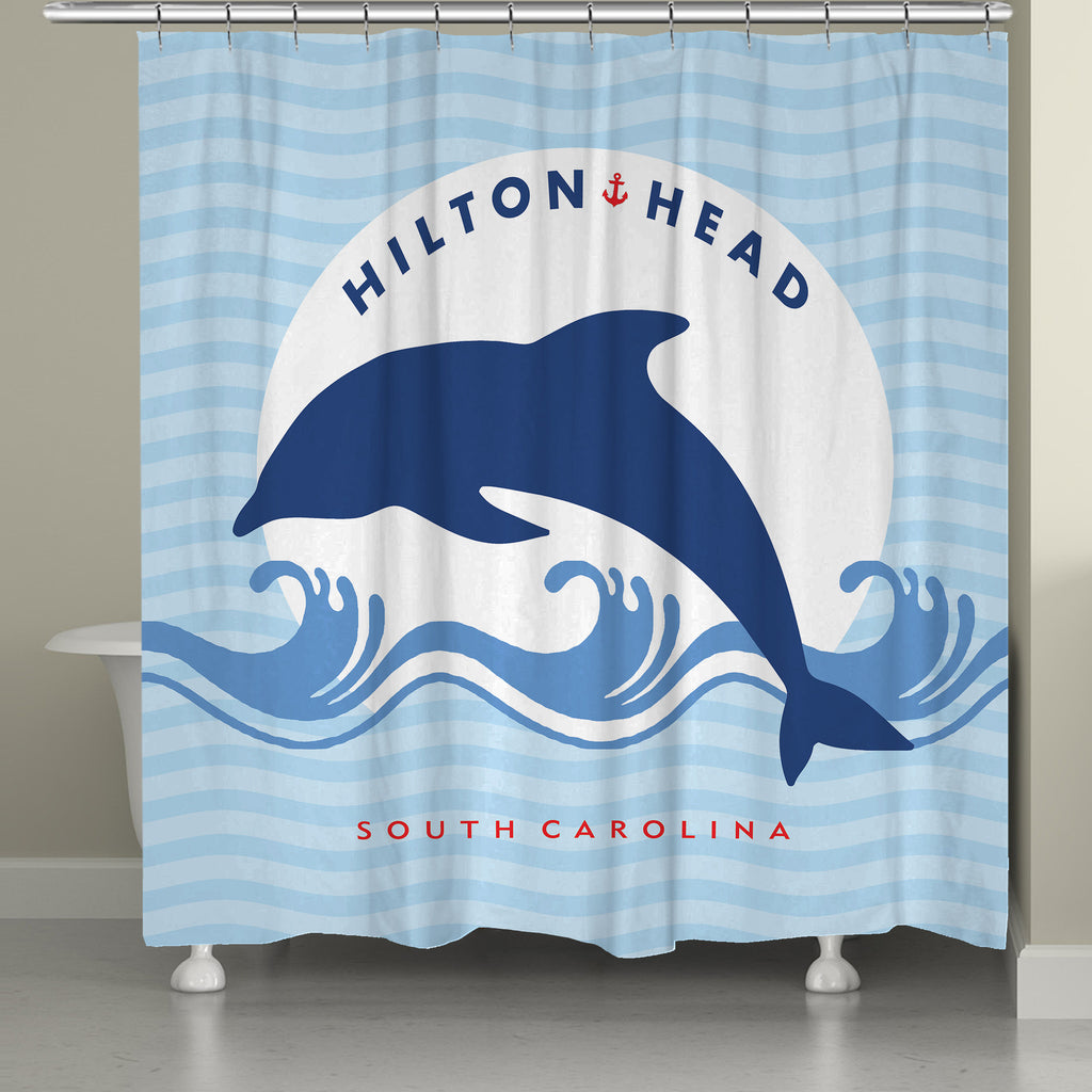 Hilton Head Shower Curtain
