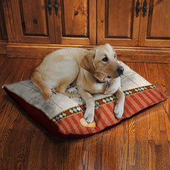"My Dog Holds the Leash 30"" x 40"" Fleece Dog Bed"