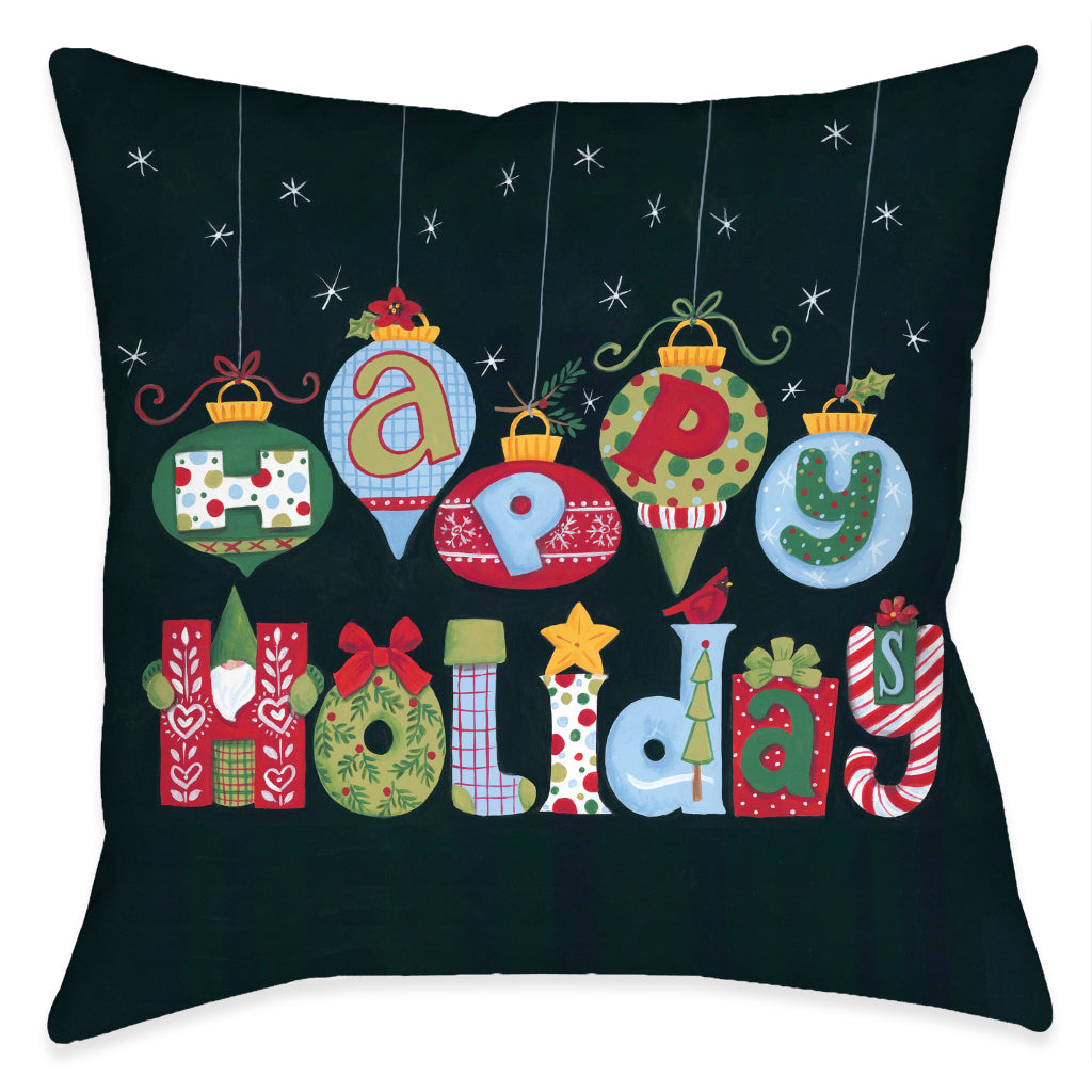 Holiday Fun Indoor Decorative Pillow