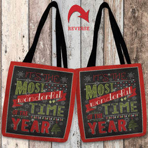 Holiday Talk Tote Bag