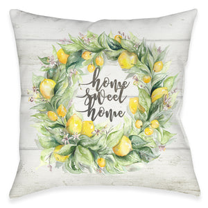 Sweet Home Outdoor Decorative Pillow