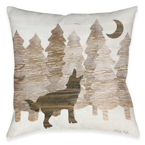 Howling Woods Indoor Decorative Pillows