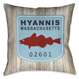 Hyannis Indoor Decorative Pillow