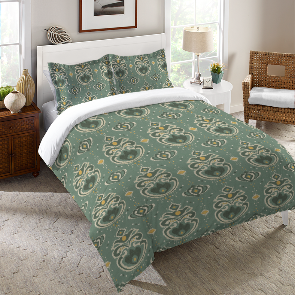 Ikat Beauty Duvet Cover