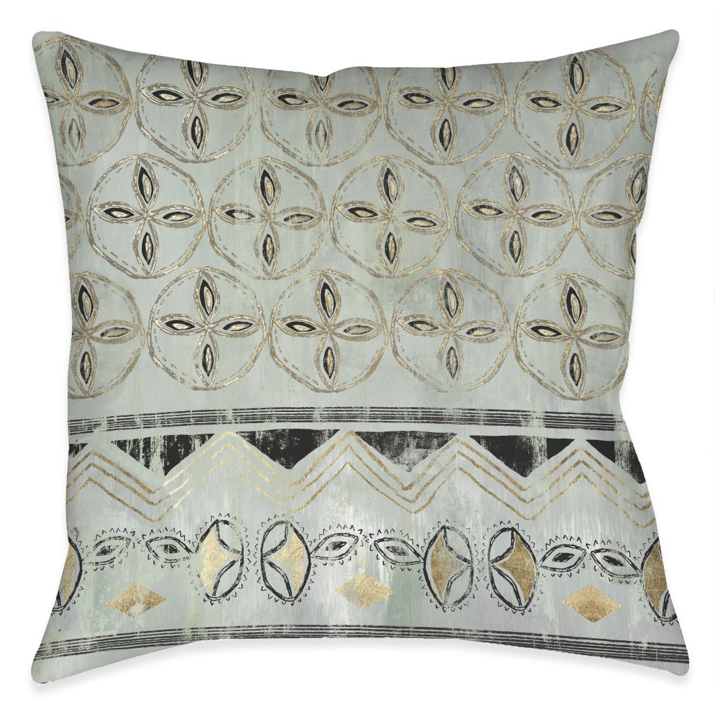 In the Rhythm Outdoor Decorative Pillow