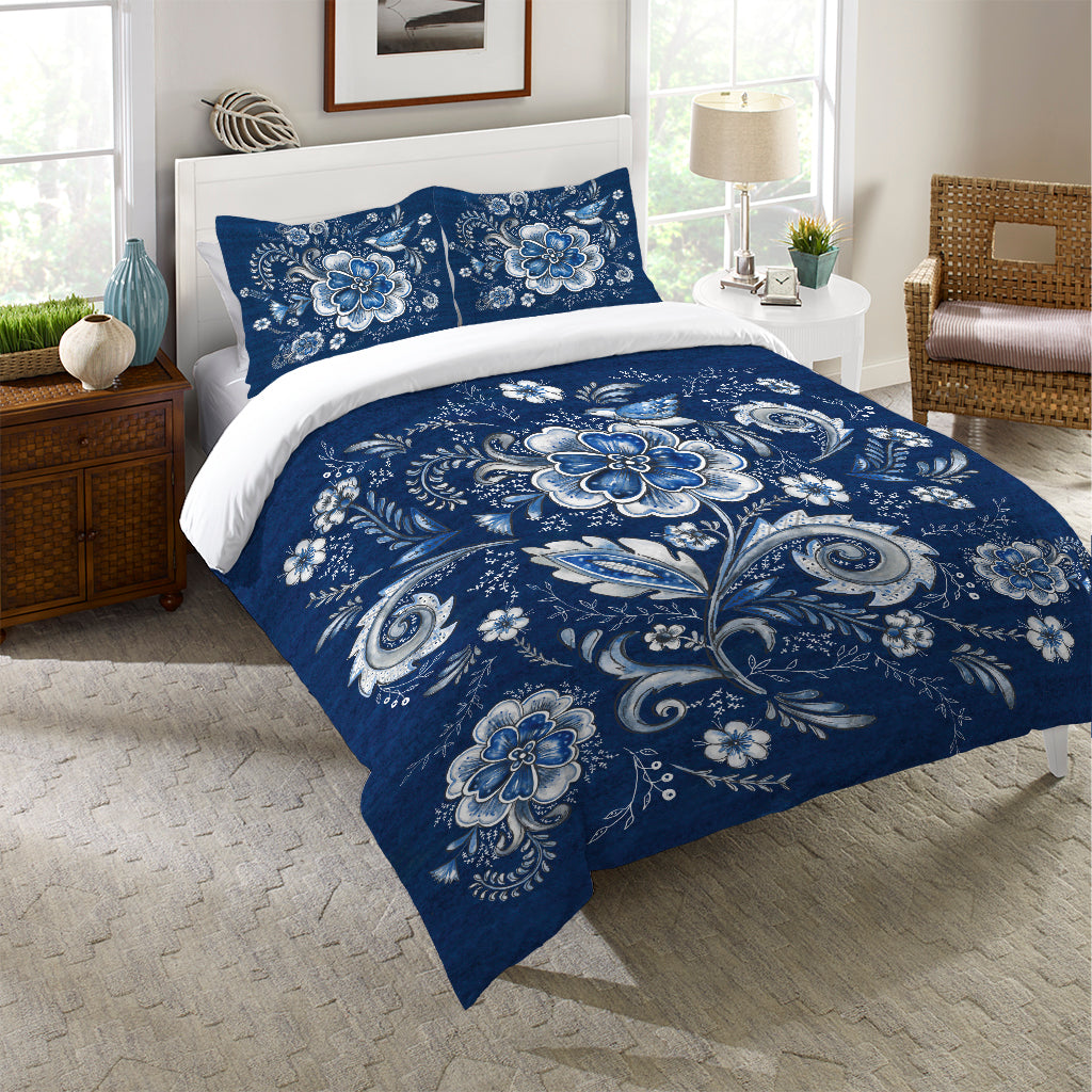 Royal Garden Duvet Cover