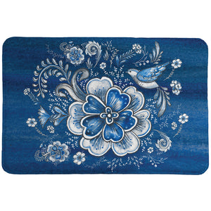 Royal Garden Memory Foam Rug