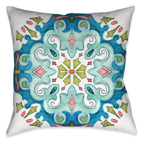 Jewel Medallion II Indoor Decorative Pillow