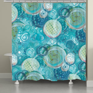 Ocean Jewels Shower Curtain