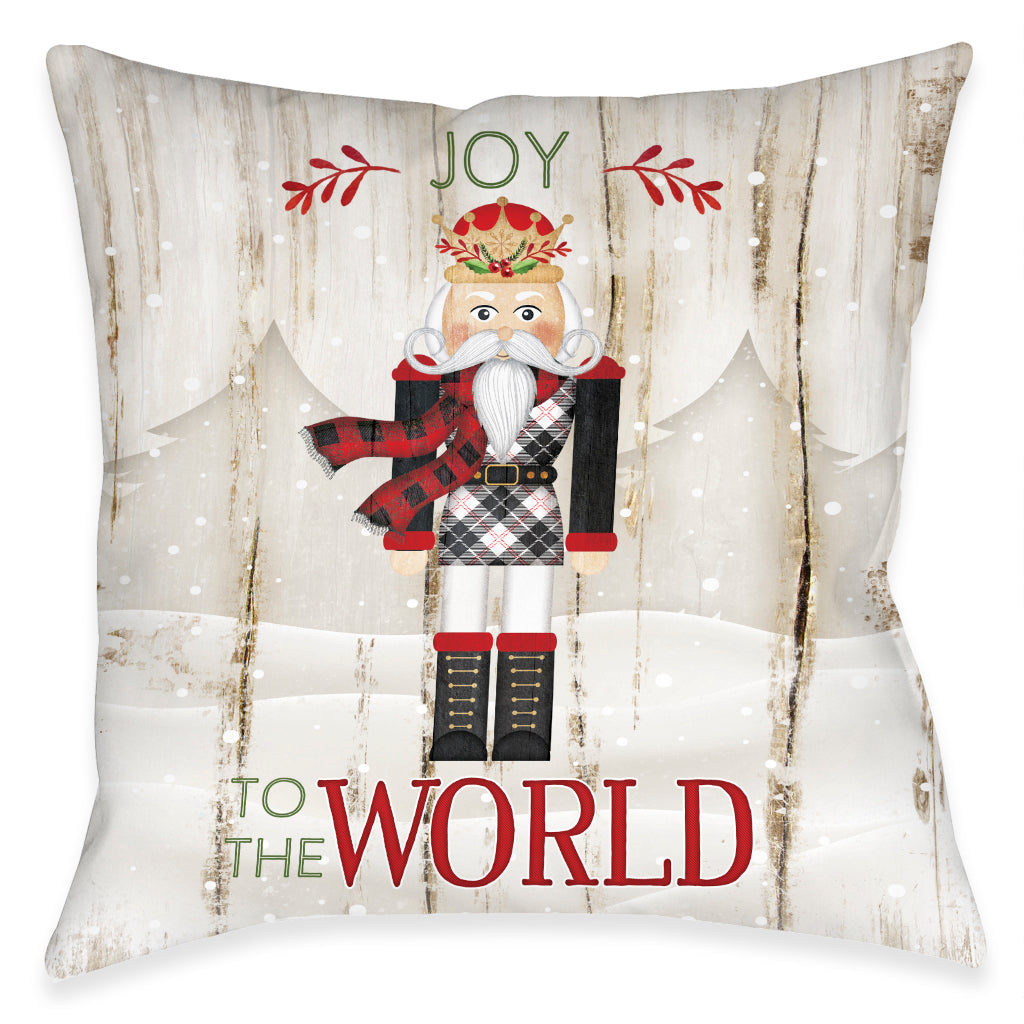 Nutcracker Christmas Joy Indoor Decorative Pillow