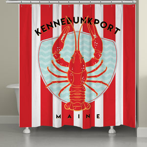 Kennebunkport Shower Curtain