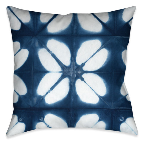 Kumo Indigo Outdoor Decorative Pillow