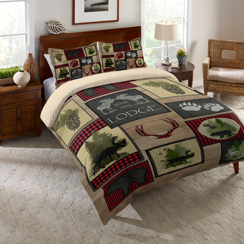 Lumberjack Plaid Duvet Cover