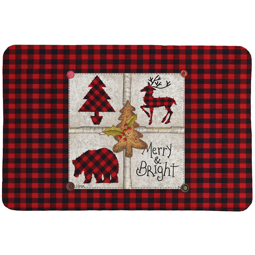 Merry and Bright Memory Foam Rug
