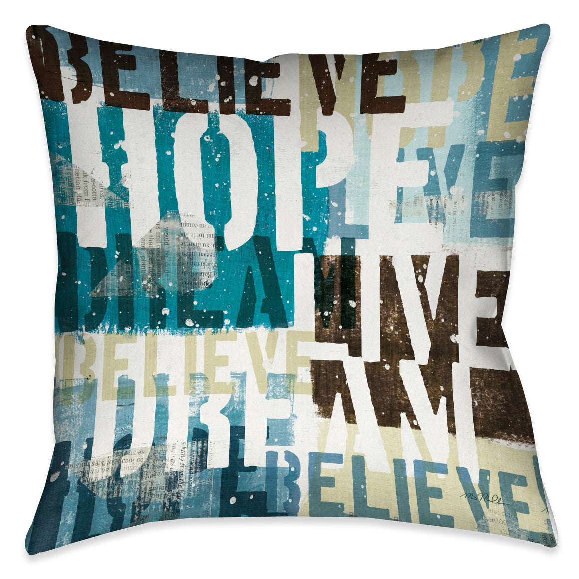 Live the Dream Pillow