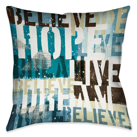 Live the Dream II Indoor Decorative Pillow